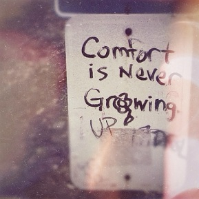 Signs: Comfort Is Never Growing Up