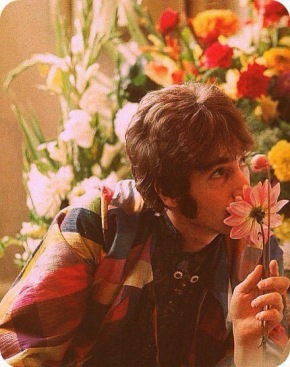 If someone thinks that peace and love are just a cliche that must have been left behind in the 60s, that's a problem. Peace and love areeternal.
